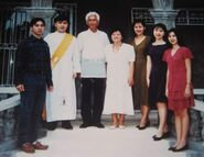 Maja's family c. 1996