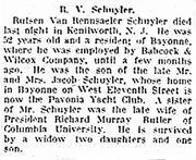 Rutsen Van Rensselaer Schulyer (1853-1914) death.png