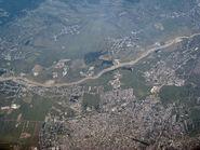 Aerial view, near Ploesti, Romania -b