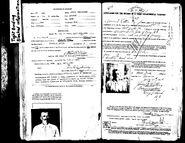 Lattin-Jarvis 1918 passport back