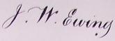 John William Ewing Signature.png
