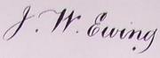 File:John William Ewing Signature.png