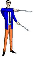 Agente 16 espadas
