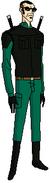 Agente seis con traje de espia