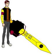 Perry con la Tecno Espada (EG)