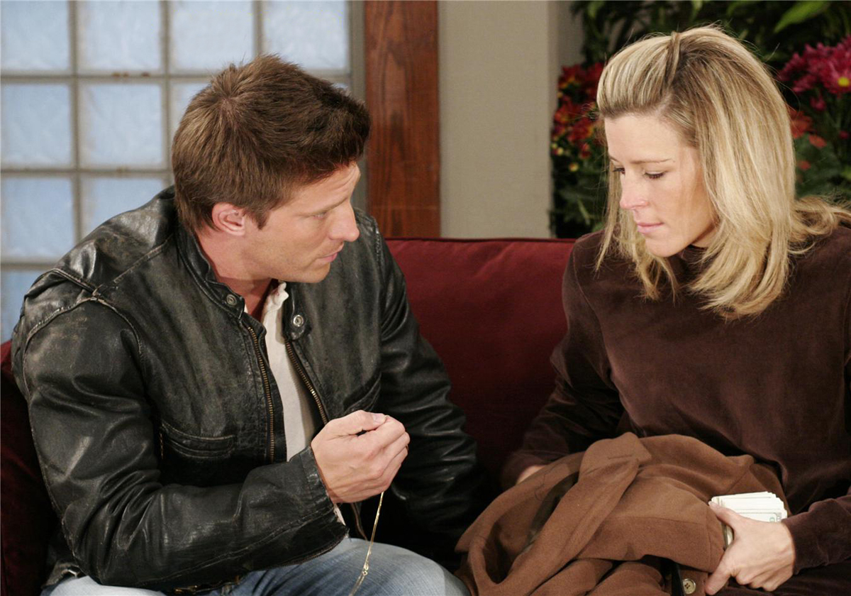 Jason Morgan and Carly Benson