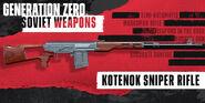 Kotenok Sniper Rifle