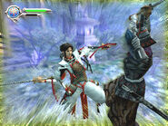 Genji DoS game screenshot 2
