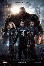 Fantastic Four (2015) Poster