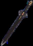 Оружие Тёмный железный меч (целиком)