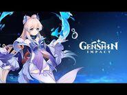 "Character Demo - ""Sangonomiya Kokomi- A Thousand Waves Under the Moon"" - Genshin Impact"