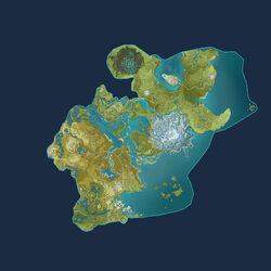 Mapa Teyvat 1-4