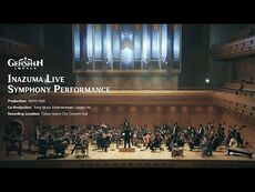 Realm of Tranquil Eternity:Inazuma Live Symphony Performance - Genshin Impact