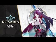 """New Character Demo - """"Rosaria- No Overtime, Ever"""" - Genshin Impact"""