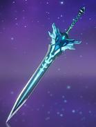 Оружие Заснеженное звёздное серебро Возвышение (целиком)