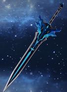Оружие Заснеженное звёздное серебро (целиком)