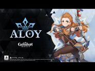 "Character Demo - ""Aloy- Otherworldly Hunter"" - Genshin Impact"