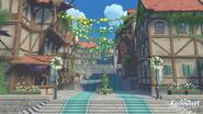 Вход в Мондштадт - Праздник ветряных цветов