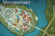 НИП Куинн на карте ночью