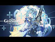 "Character Teaser - ""Eula- Midnight Encounter at the Tavern"" - Genshin Impact"