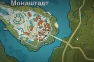 НИП Куинн на карте днём