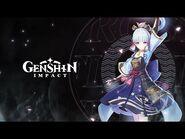 "Character Demo - ""Kamisato Ayaka- Camellia in Winter Snow"" - Genshin Impact"