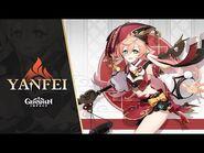 "New Character Demo - ""Yanfei- Legal Expertise"" - Genshin Impact"