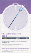 Weapon Card The Catch
