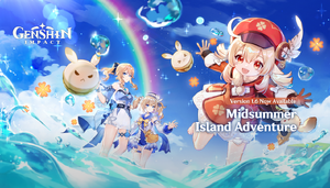 Splashscreen Midsummer Island Adventure