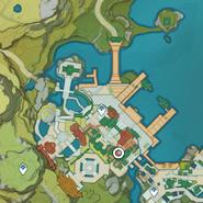 NPC Location Qiming (Nighttime)