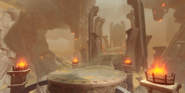 Domain Court of Flowing Sand