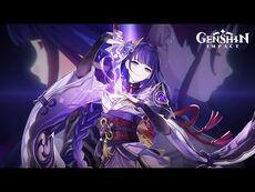 "Character Demo - ""Raiden Shogun- Judgment of Euthymia"" - Genshin Impact"