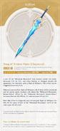 Weapon Card Song of Broken Pines