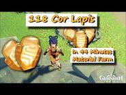 118 Cor Lapis in 44 Minutes