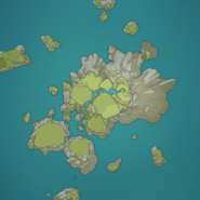 Emerald Peak Map