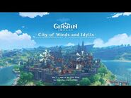 City of Winds and Idylls - Disc 3- Saga of the West Wind|Genshin Impact