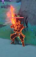 Enemy Ochimusha Cankered Flame - Infused