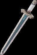 Weapon Silver Sword 3D