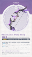 Weapon Card Mitternachts Waltz