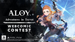 Aloy Adventures in Teyvat - Webccomic Contest
