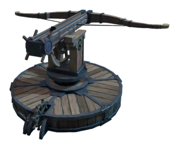 """An ancient, magical crossbow that defends the nation of <!--LINK'"""" 0:0-->."""