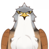 Wildlife Brownwing Falcon Icon.png