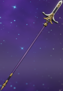 Weapon Kitain Cross Spear 3D