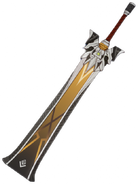 Weapon Lithic Blade 3D