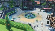 Mondstadt Main Plaza - Windblume