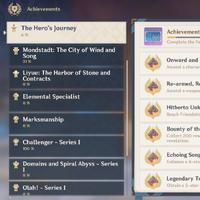 Achievements Genshin Impact Wiki Fandom