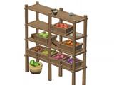 Fragrant Cedar Vegetable Rack