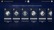 Archive Menu Travel Log Story Quests Old