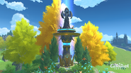 Statue of the Seven - Dawn Winery - Windblume