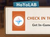 HoYoLAB Community Daily Check-In